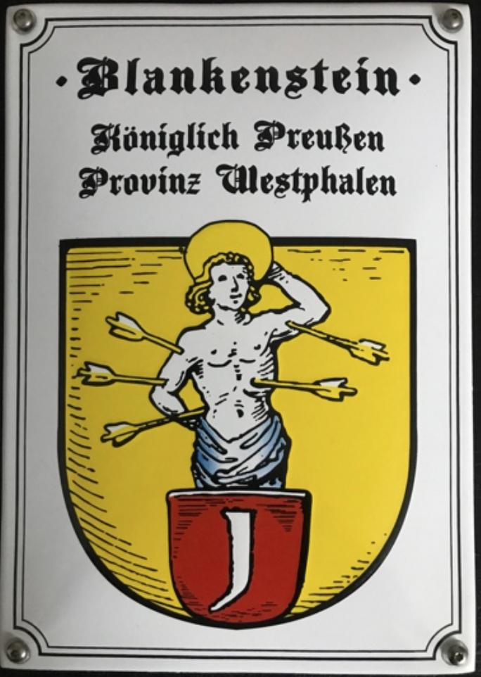 Das Wappen von Blankenstein