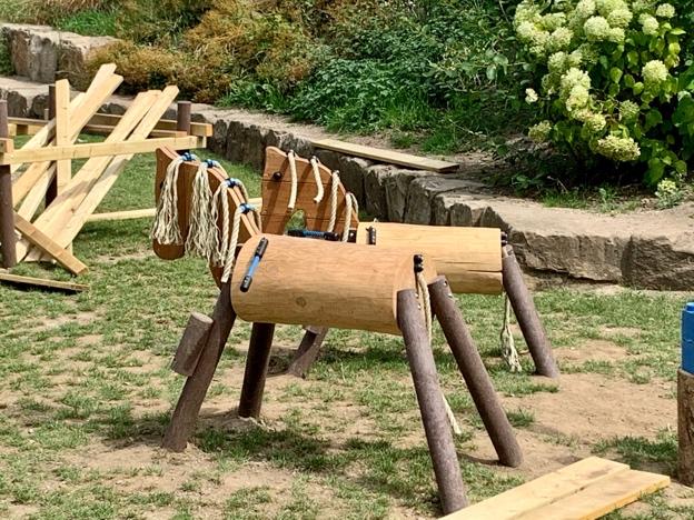Holzpferde Arche Noah